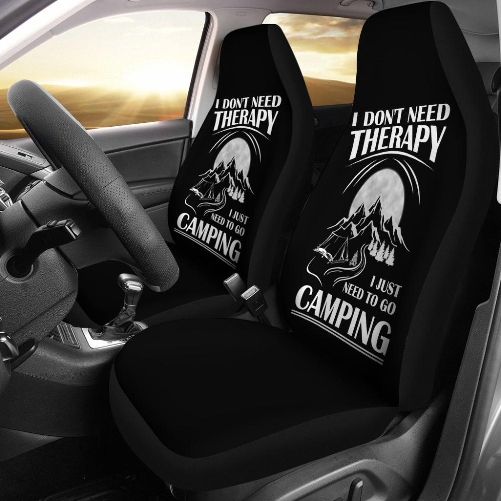I Just Need To Go Camping Universal Fit Car Seat Covers - Snappy Creations