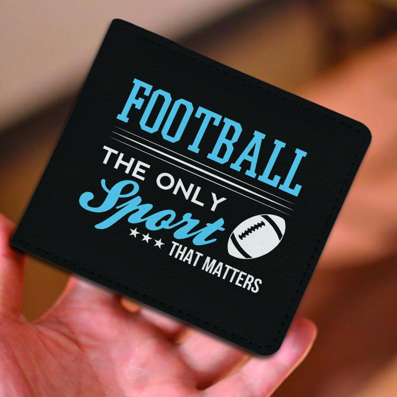 The Only Sport That Matters Football Men's Wallet