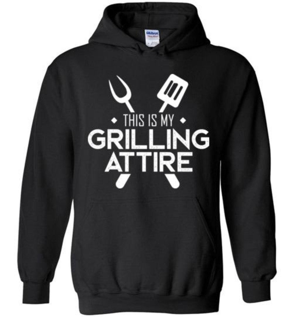 This Is My Grilling Attire Funny Cooking T-shirt - Snappy Creations