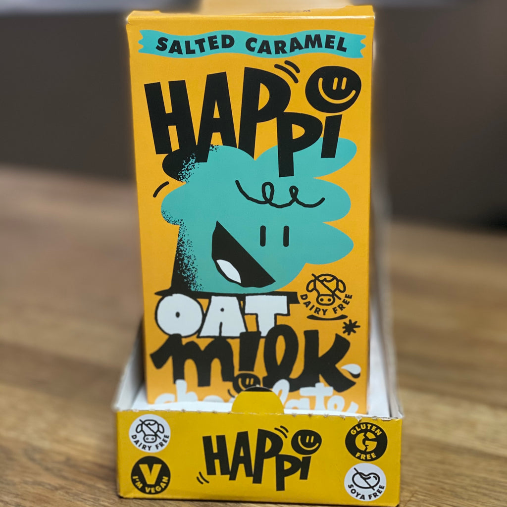 Happi Oat M!lk Chocolate Salted Caramel Bar