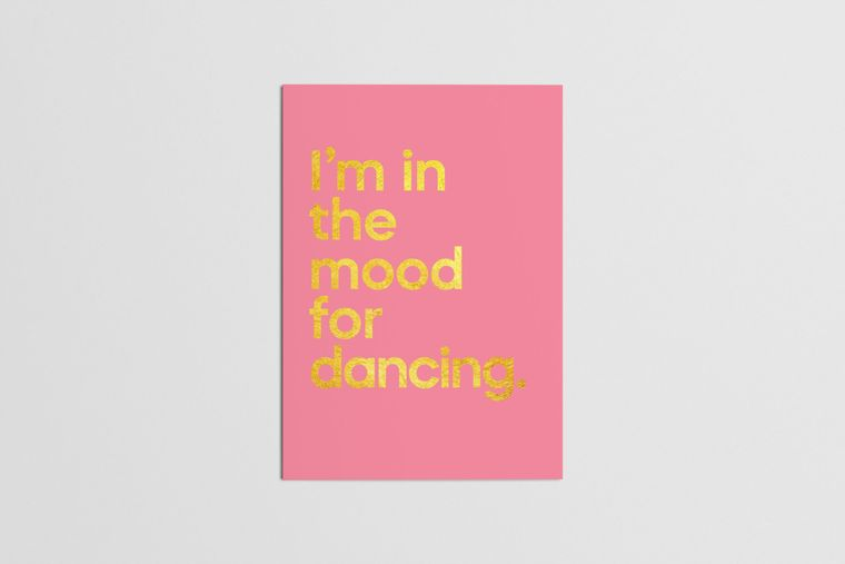 I'm In the Mood For Dancing