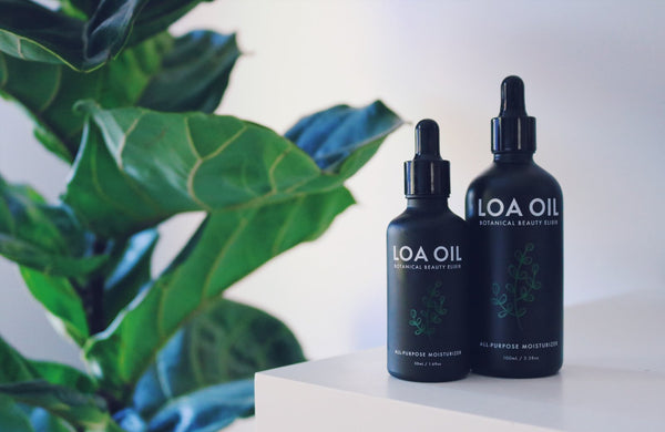 LOA OIL Fatty Acids Acne Eczema