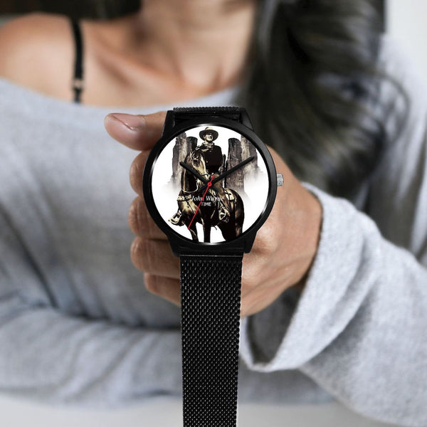 John Wayne Watches - Custom-design. Select strap type.