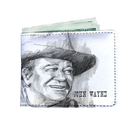 Custom Designed John Wayne Men's Wallet