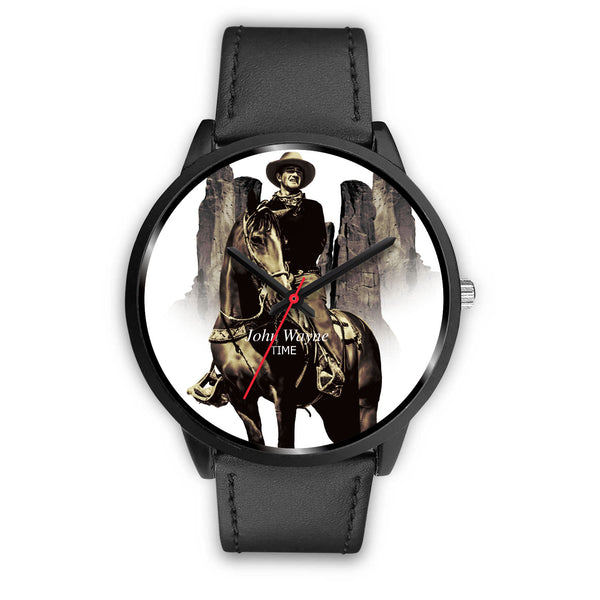 John Wayne Quality Black Watch - Custom Design