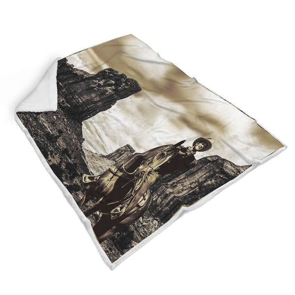 John Wayne Custom Designed Blanket