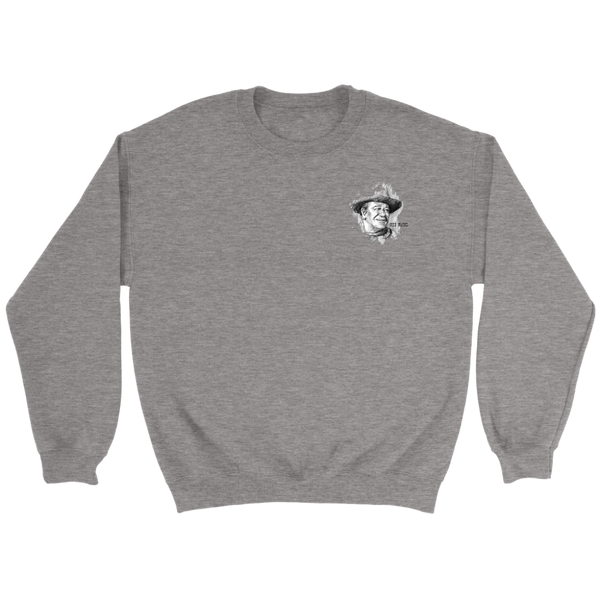 John Wayne Crewneck Sweatshirt - Unique Design