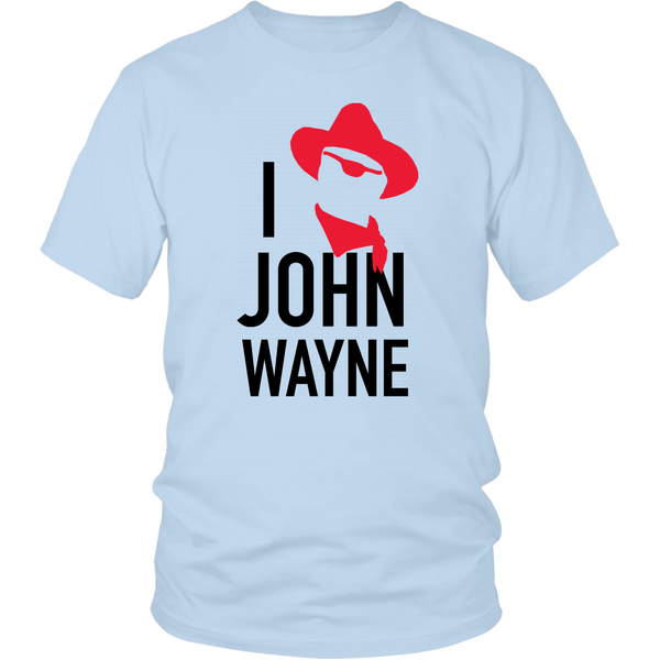 John Wayne Made in USA T-Shirt I xx John Wayne True Grit Stylised Image
