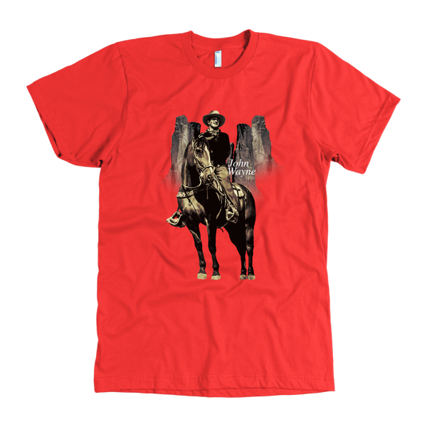 Quality John Wayne T-Shirt Made in USA