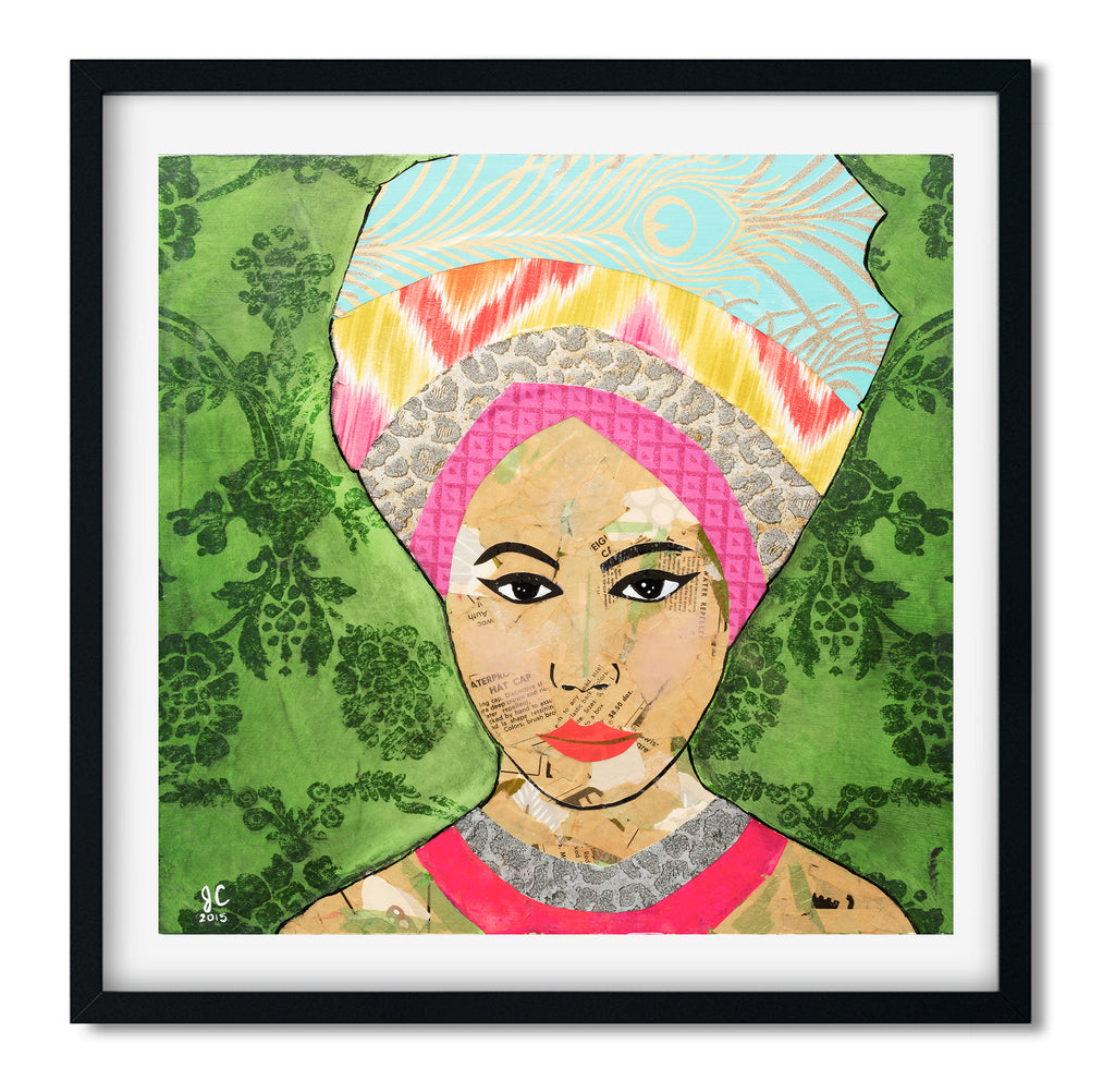 A Girl with a Headscarf