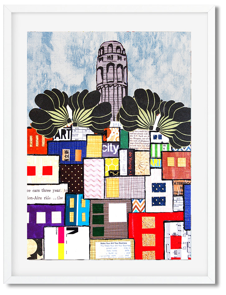 Coit Tower Collage