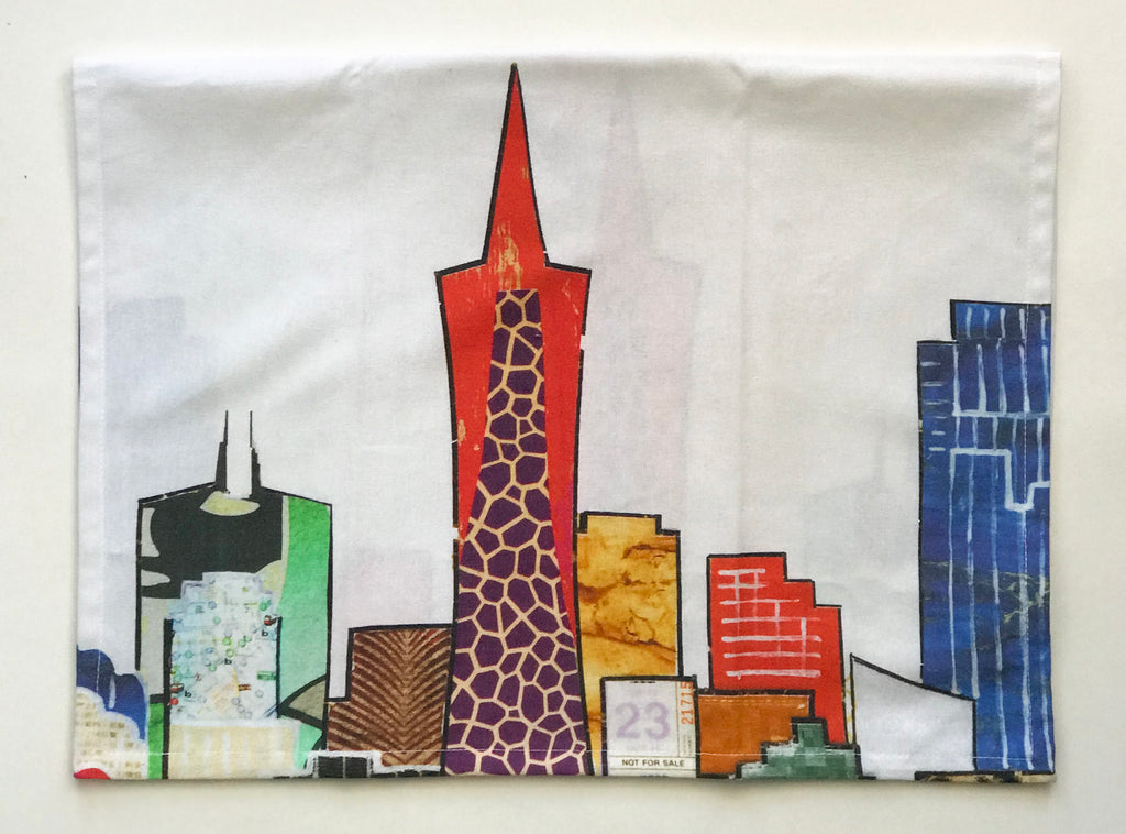 Skyline Dish Towel