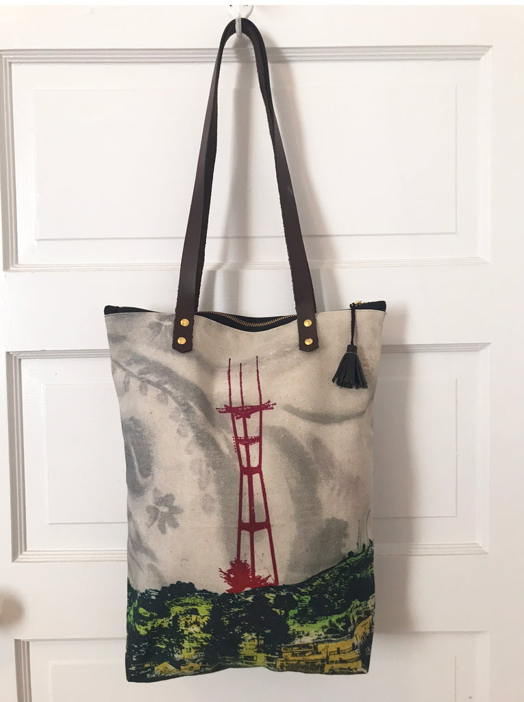 Sutro Tower City Tote