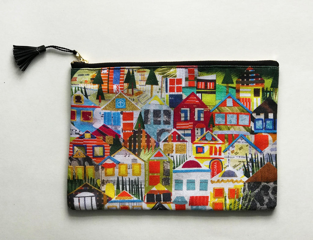 Houses of Noe Valley Accessory Pouch