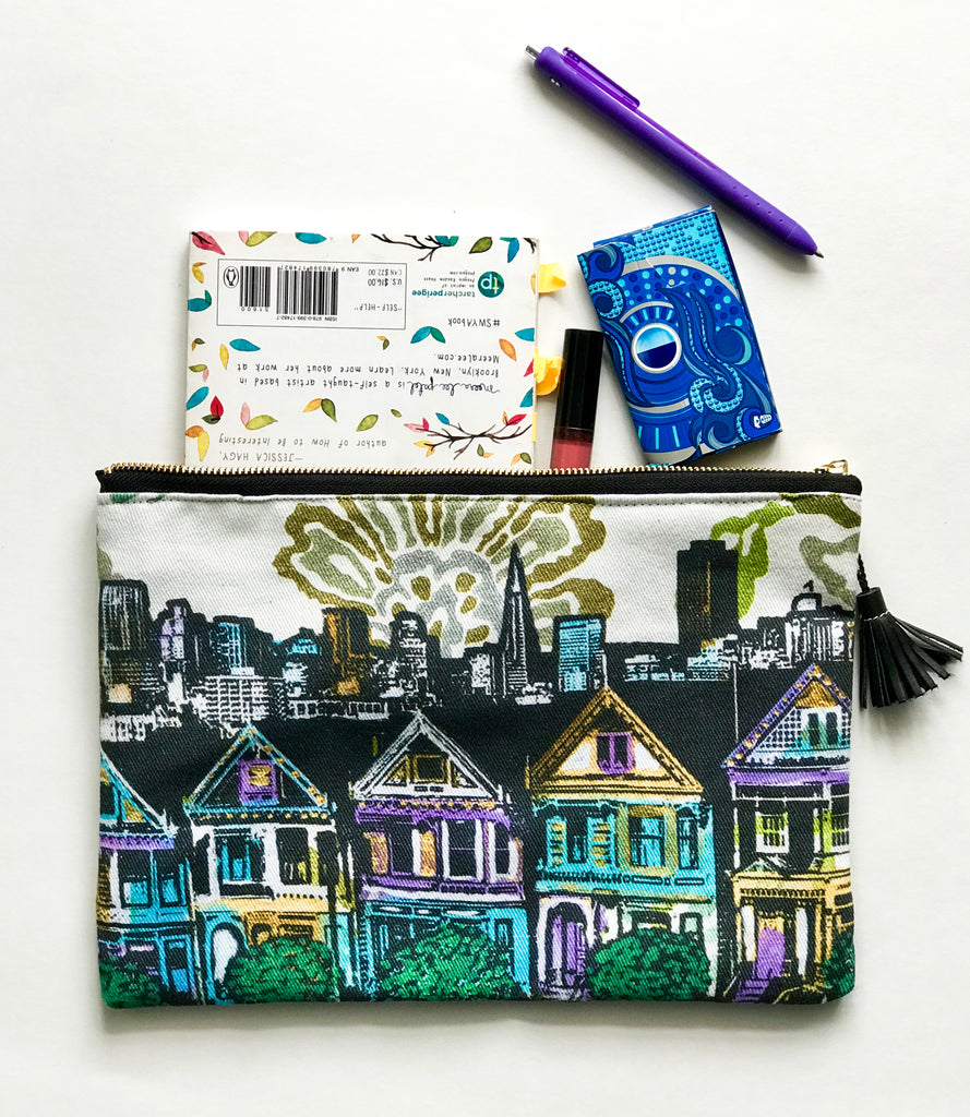 Painted Ladies Accessory Pouch