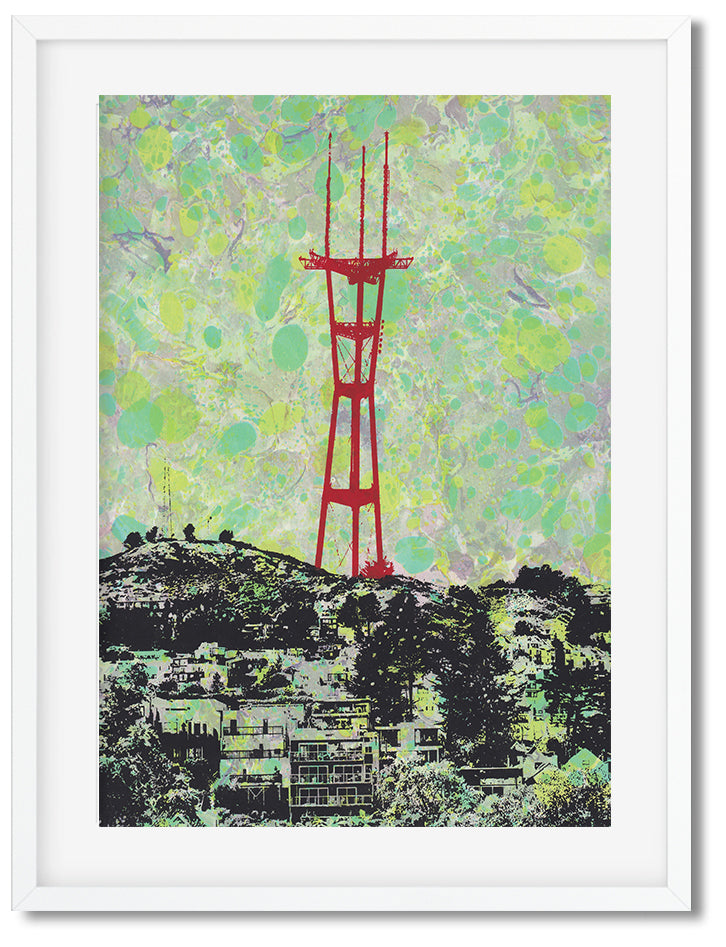 Sutro Tower--Green