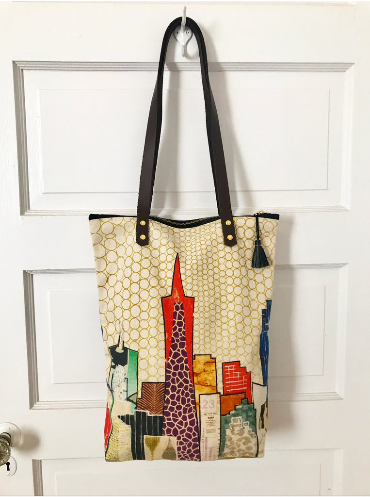 Skyline City Tote