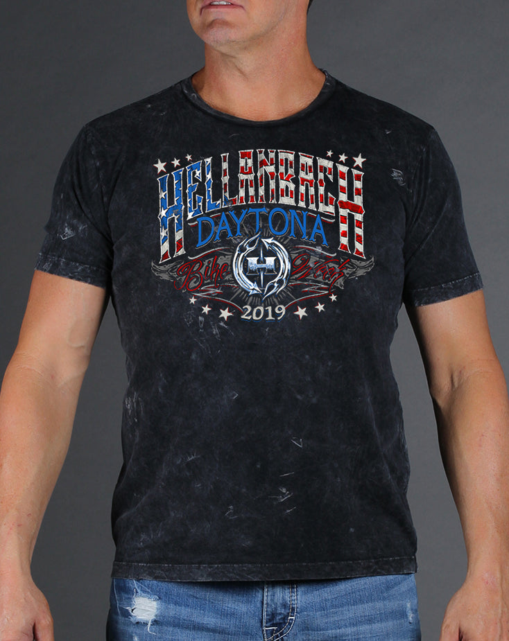 Daytona Bike Week 2019 Mineral Washed T-Shirt