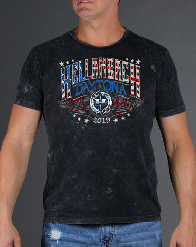 Image of Daytona Bike Week 2019 Mineral Washed T-Shirt