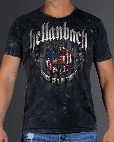 Image of American Patriot Mineral Washed Premium Shirt