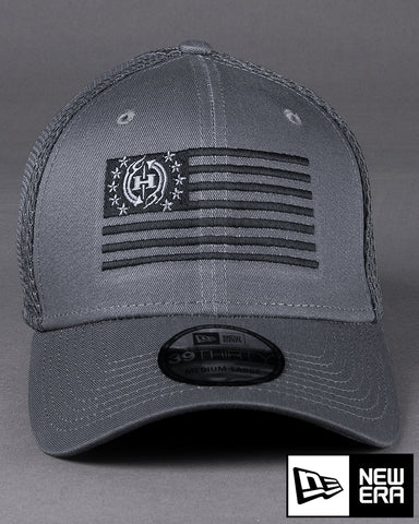Image of H76 USA Flag on New Era Stretch Mesh