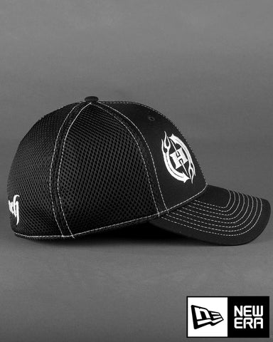 H2 on New Era Stretch Mesh with Contrast Stitch