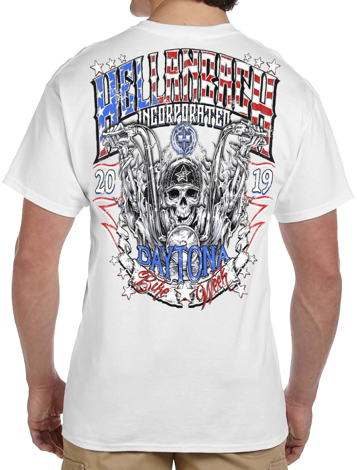 78th Annual Daytona Bike Week 2019 T-Shirt