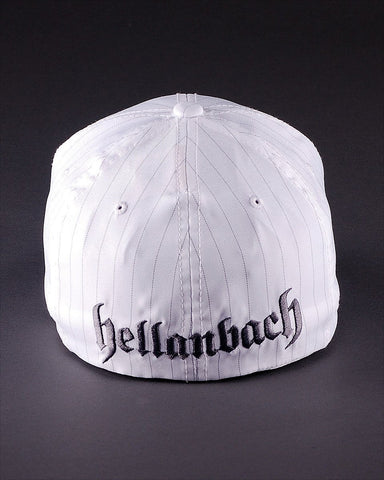 Image of Ballcaps - H2 Logo On Pinstripe Flexfit