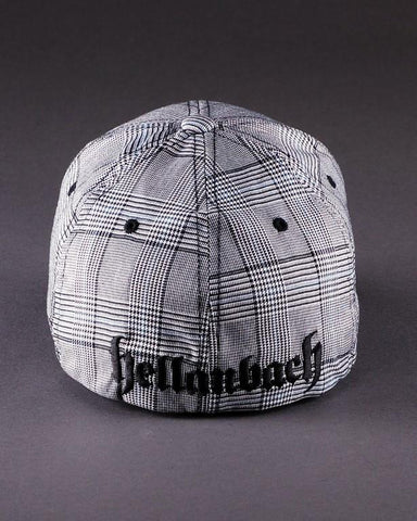 Image of Ballcaps - H2 Logo On Plaid Glen Check Flexfit