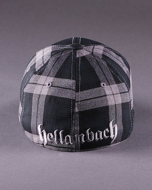 H2 Logo on Tartan Plaid Flexfit