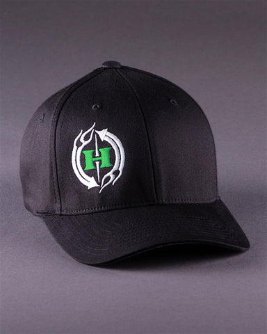 Image of Ballcaps - H2C Logo On Solid Color Flexfit