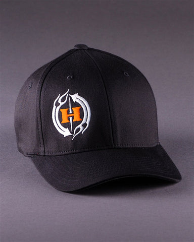 Ballcaps - H2C Logo On Solid Color Flexfit