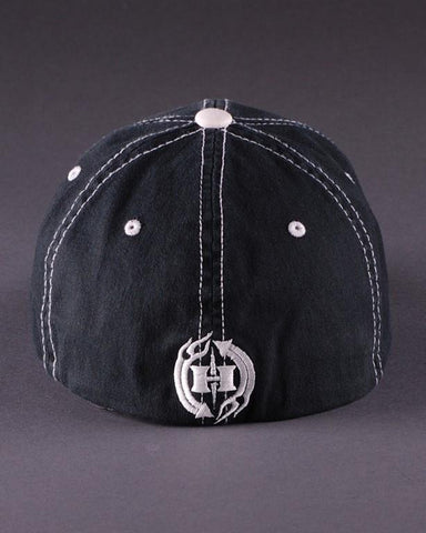 Image of Ballcaps - H3 Logo On Contrast Stitch Flexfit