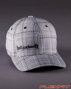 Ballcaps - H3 Logo On Glen Check Flexfit