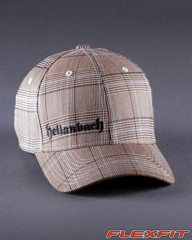 Image of Ballcaps - H3 Logo On Glen Check Flexfit