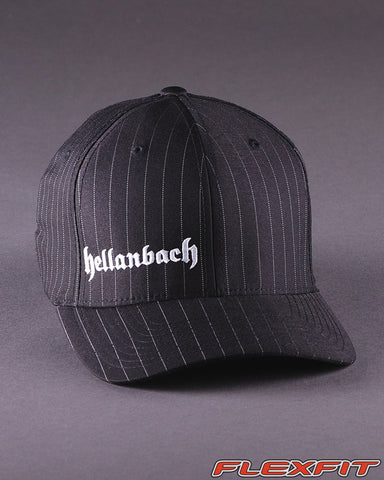 Image of Ballcaps - H3 Logo On Pinstripe Flexfit