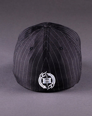 H3 Logo on Pinstripe Flexfit