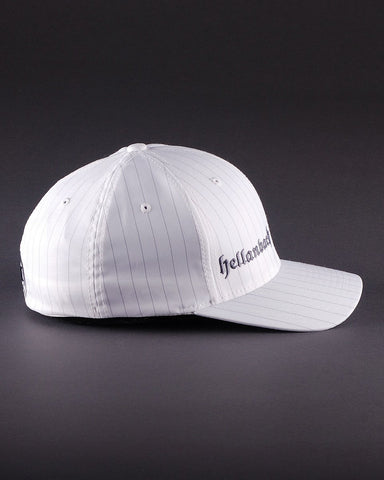 Ballcaps - H3 Logo On Pinstripe Flexfit