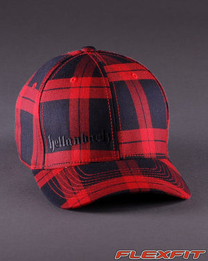 Ballcaps - H3 Logo On Tartan Plaid Flexfit