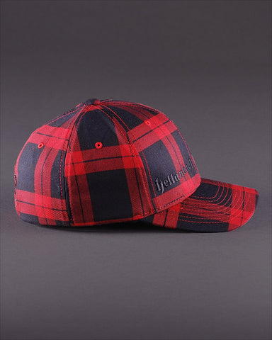 Image of Ballcaps - H3 Logo On Tartan Plaid Flexfit
