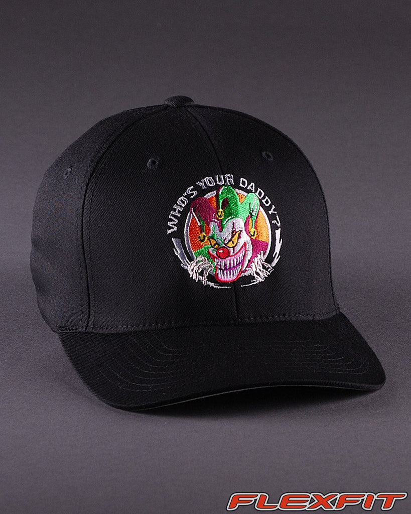 Ballcaps - Whos Your Daddy? Solid Flexfit Hat