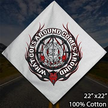 Bandanas - What Goes Around Printed Bandana V2