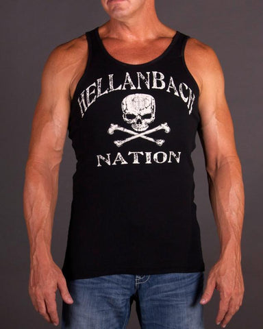 Image of Mens Beater - Hellanbach Nation