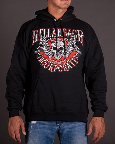 Image of Mens Hoodie - High Octane Hooded Pullover