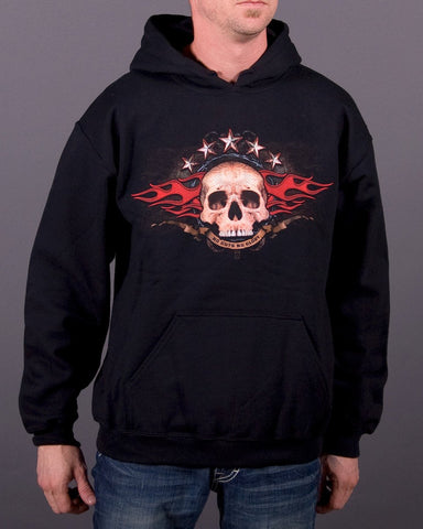 Mens Hoodie - No Guts No Glory Hooded Pullover