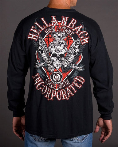 Image of Mens LS T-Shirt - High Octane Long Sleeve