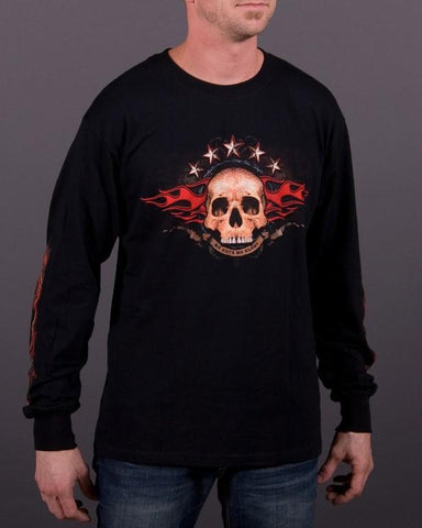 Image of Mens LS T-Shirt - No Guts No Glory Long Sleeve