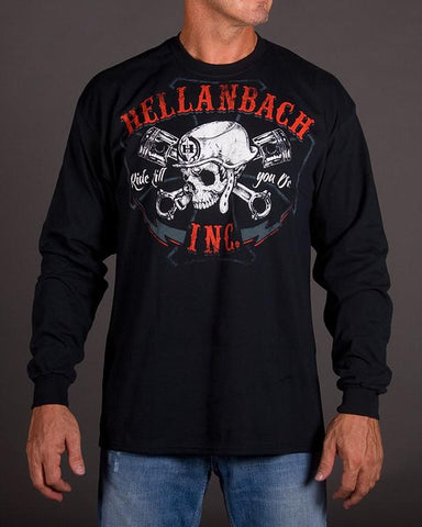 Mens LS T-Shirt - Ride Till You Die Long Sleeve