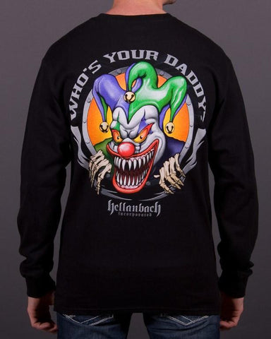 Image of Mens LS T-Shirt - Who's Your Daddy? Long Sleeve