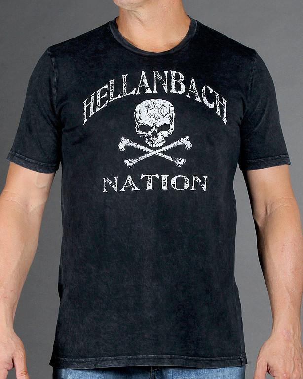 "Mens Premium T-Shirt - HB Nation ""What A Ride"" Mineral Washed Premium Shirt"